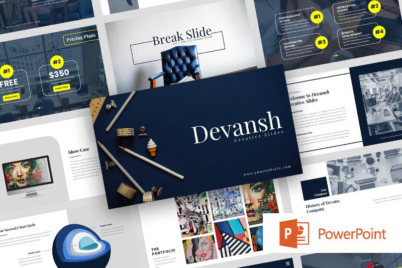 devansh-creative-business-power-point-template