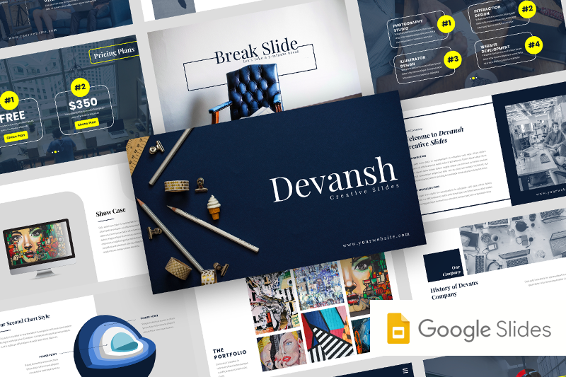 devansh-creative-business-google-slide-template