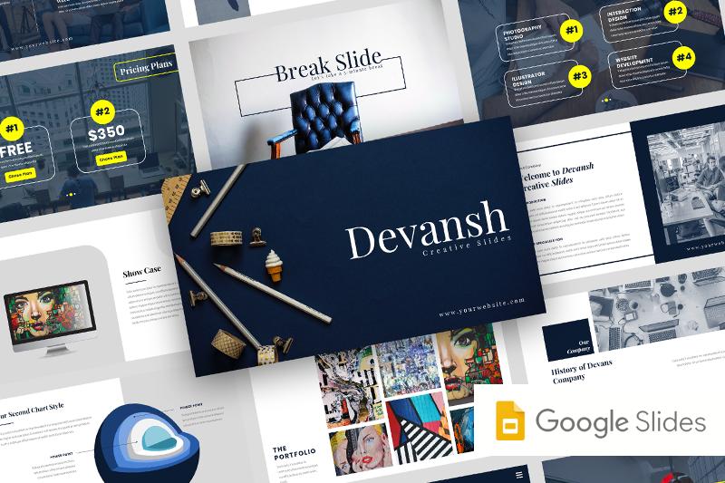 devansh-creative-business-google-slide-template