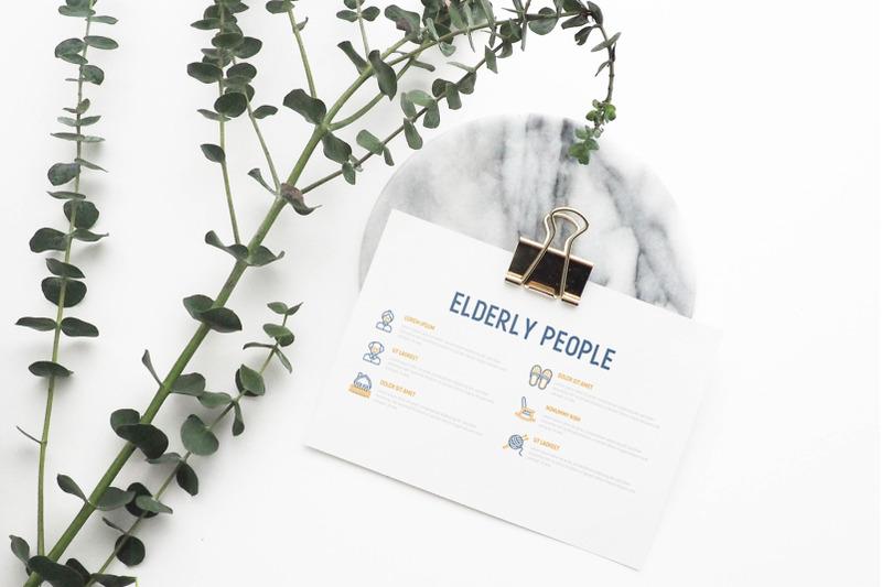 elderly-people-16-thin-line-icons-set-30-unique-templates