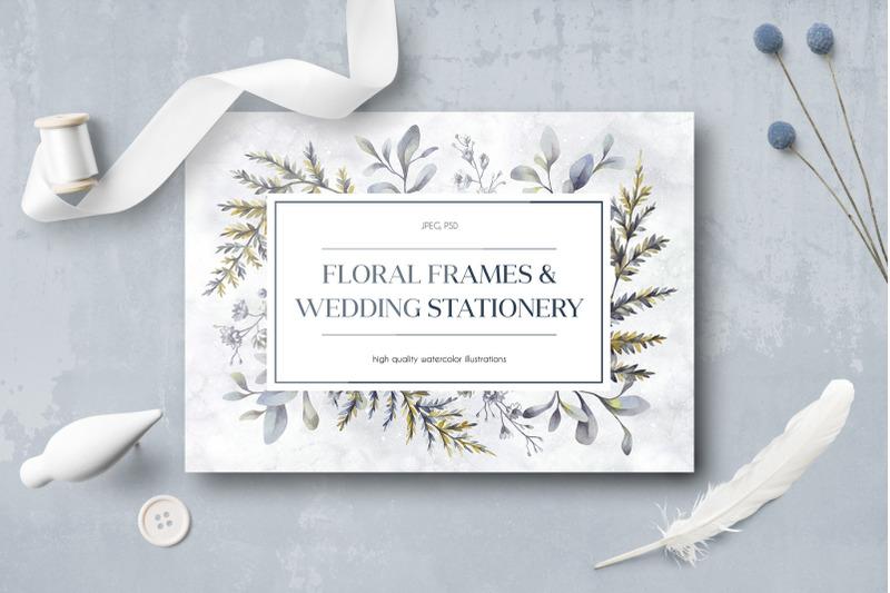 floral-wedding-cards-set