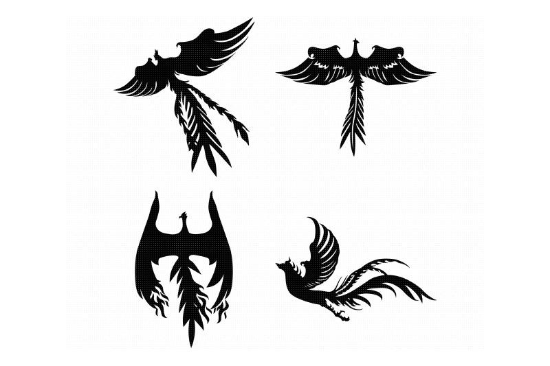 phoenix-flame-svg-dxf-vector-eps-clipart-cricut-download