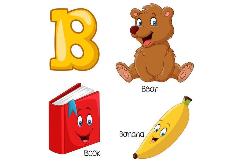 illustration-of-b-alphabet
