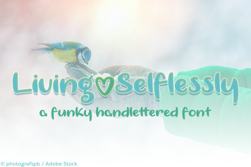 living-selflessly