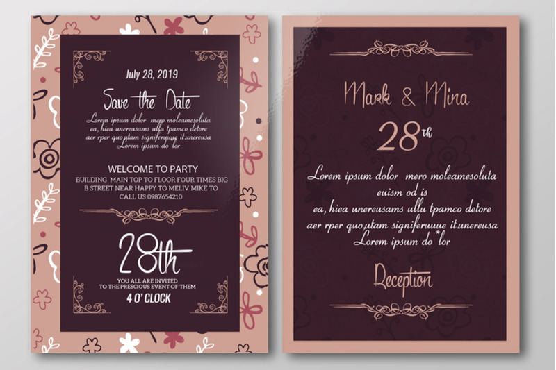 double-sided-save-the-date-wedding-invitation-card