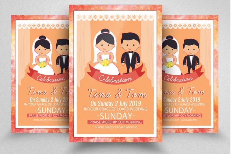 wedding-ceremony-flyer-poster