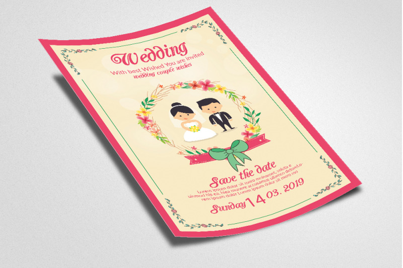 wedding-invitation-flyer-poster-template