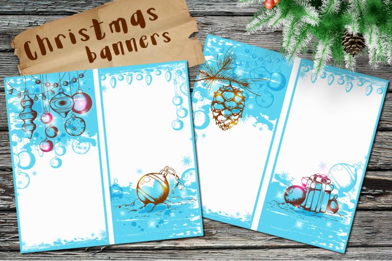 blue-christmas-banners
