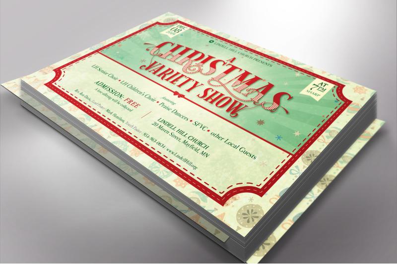 christmas-show-flyer-template