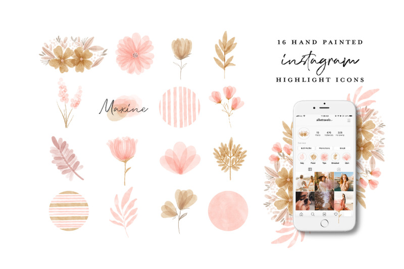64-instagram-highlight-icon-bundle