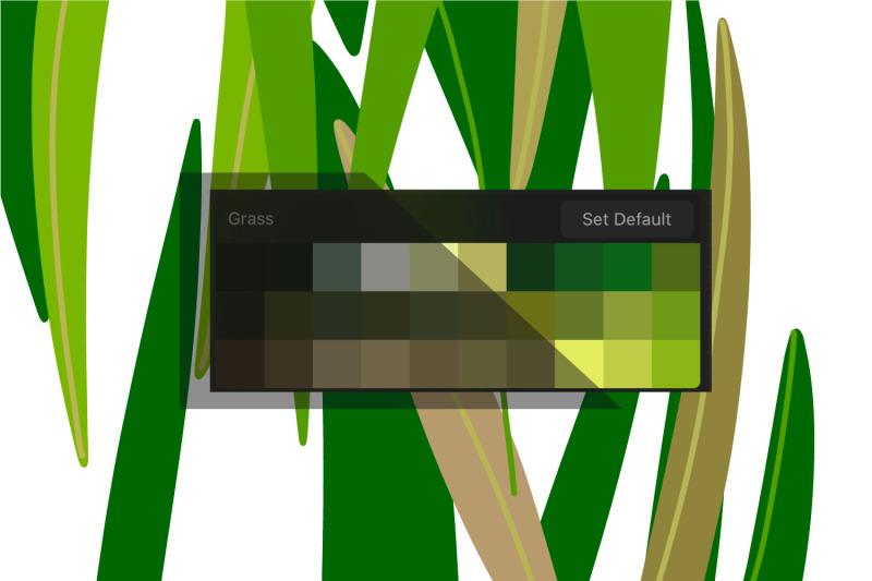 procreate-palette-grass