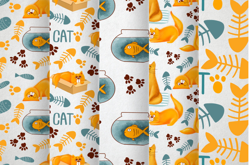 cute-cat-patterns