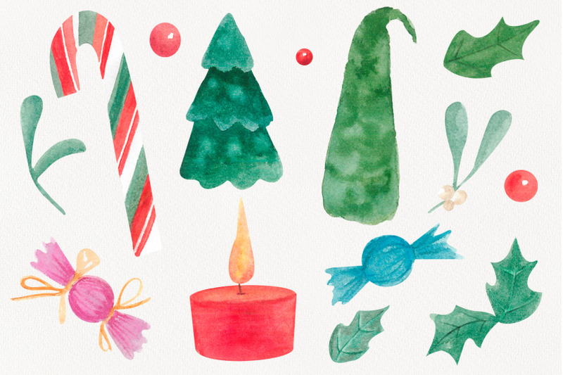 christmas-watercolor-clipart