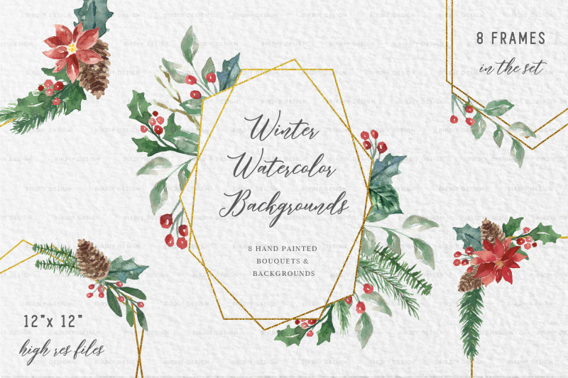 winter-watercolor-frame-backgrounds