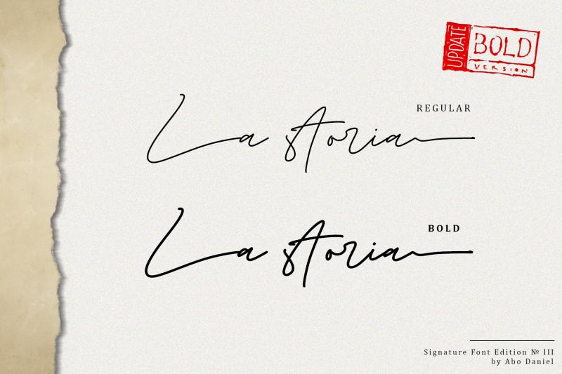 la-storia-2-weight-signature