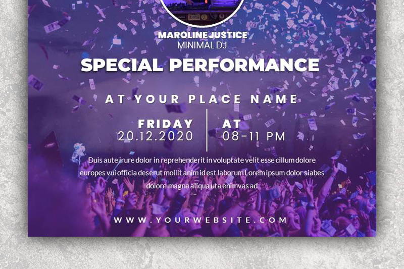 event-flyer-power-point-template