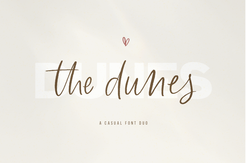 the-dunes-script-sans-font-duo-with-extras