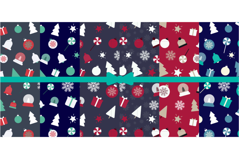 christmas-and-new-year-seamless-repeating-patterns