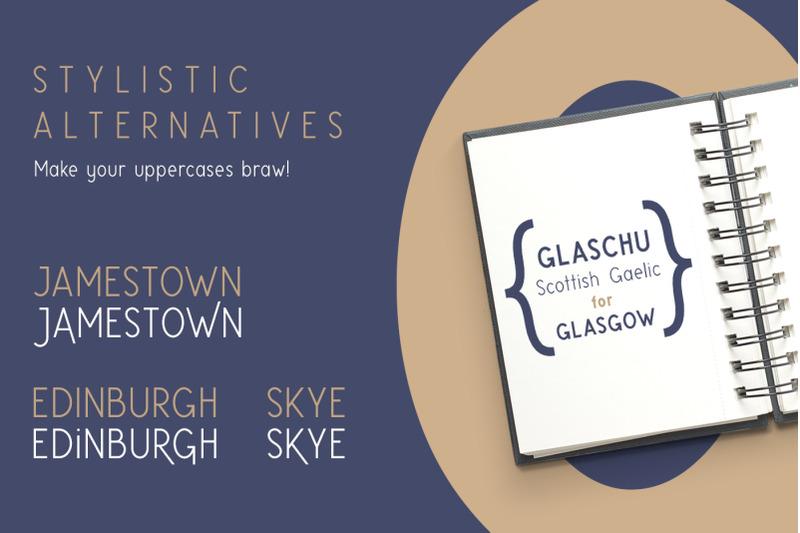 glaschu-font-family