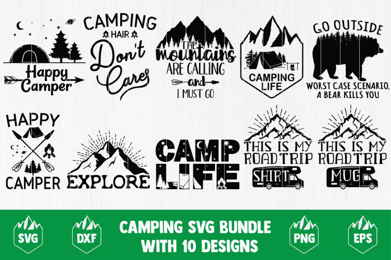 camping-svg-bundle