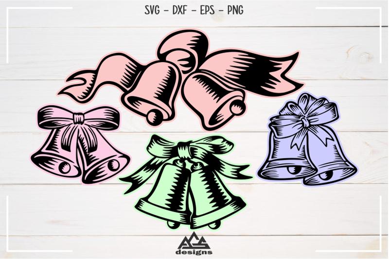 christmas-holly-bells-svg-cuttable-design