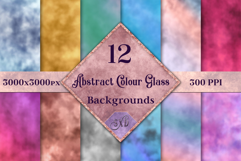abstract-colour-glass-backgrounds-12-image-textures-set
