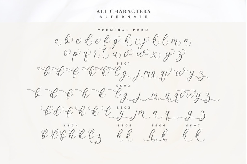 lizelie-calligraphy-font