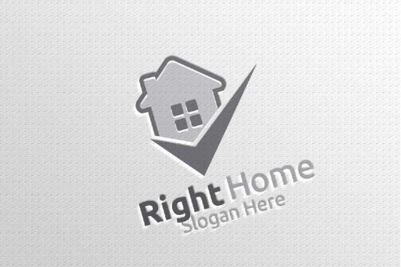 real-estate-vector-logo-design-with-home-and-check-logo-8