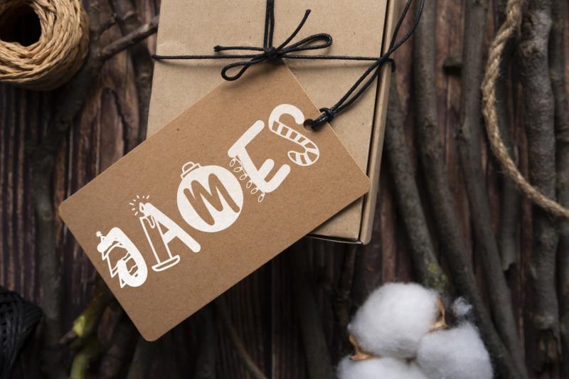 joyeux-noel-font-christmas-doodle-font-in-6-designs
