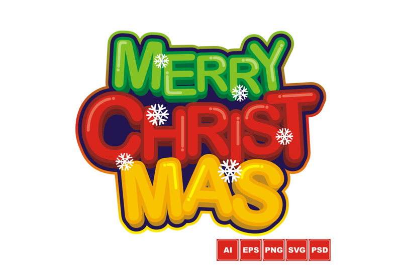 merry-christmas-logo-design