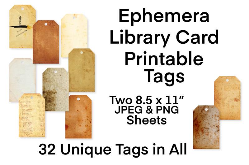 vintage-ephemera-printable-tags-collection