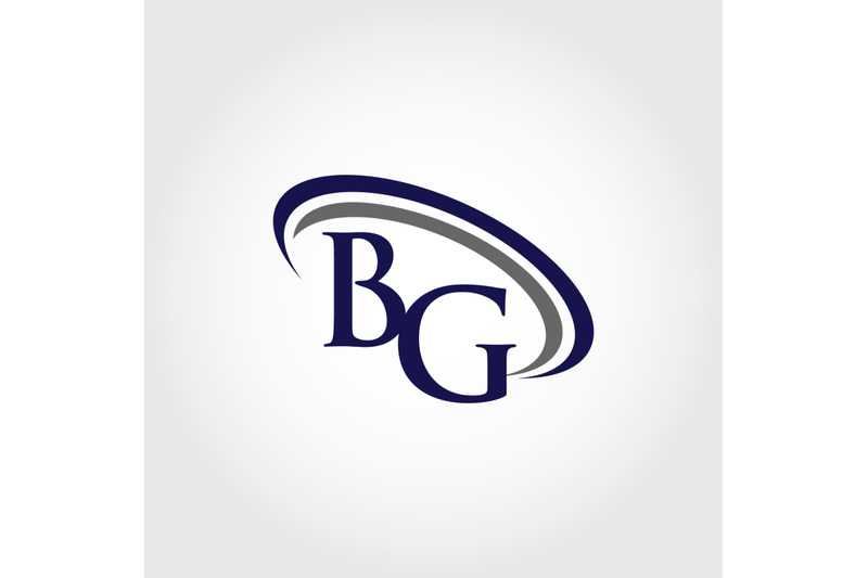 monogram-bg-logo-design