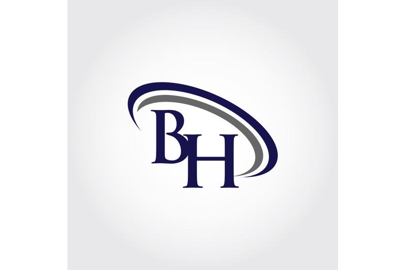 monogram-bh-logo-design