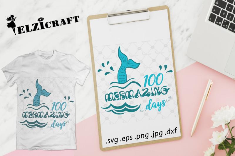 100-mermazing-days-of-school-mermaids-svg
