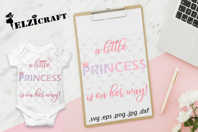 a-little-princess-is-on-her-way-baby-birth-svg