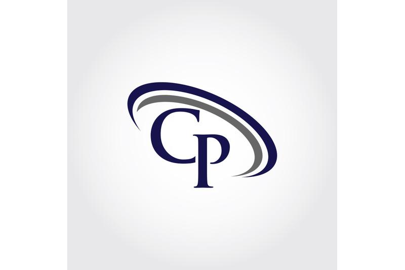 monogram-cp-logo-design