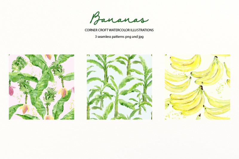 watercolor-banana-clipart