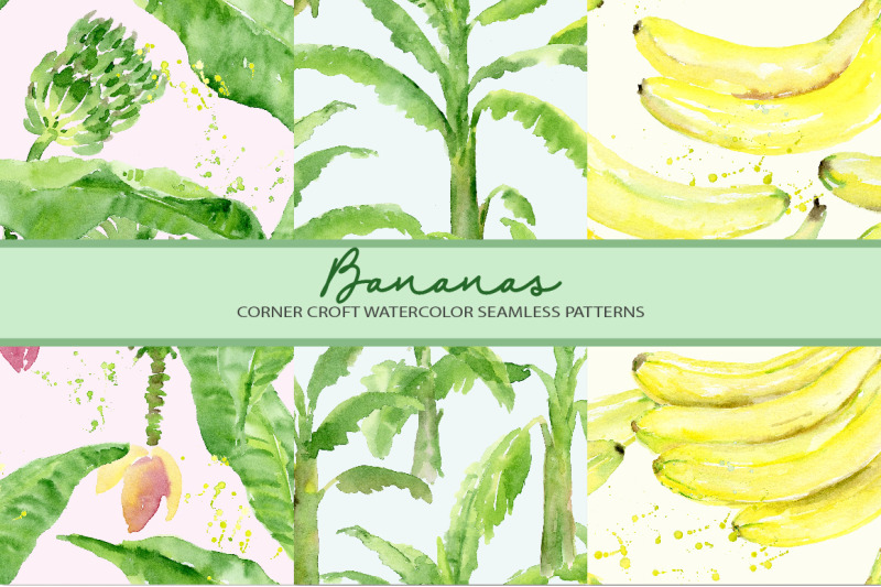 watercolor-banana-clipart