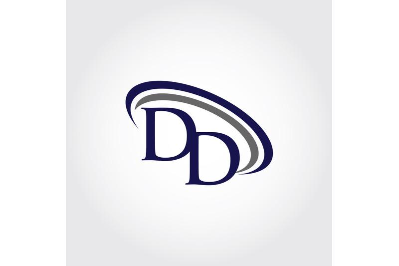 monogram-dd-logo-design