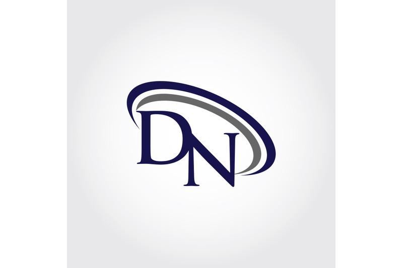 monogram-dn-logo-design