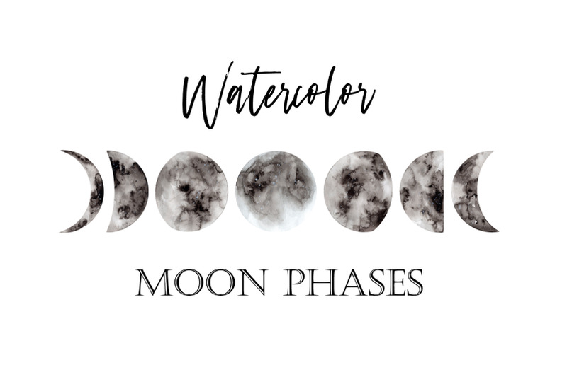 watercolor-moon-phases