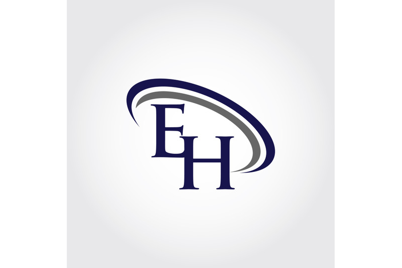 monogram-eh-logo-design