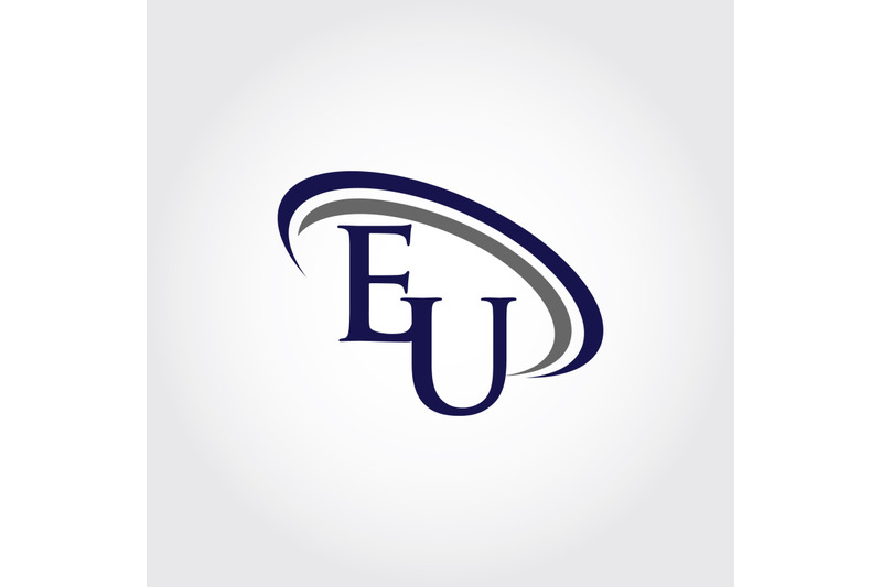 monogram-eu-logo-design