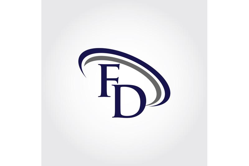monogram-fd-logo-design