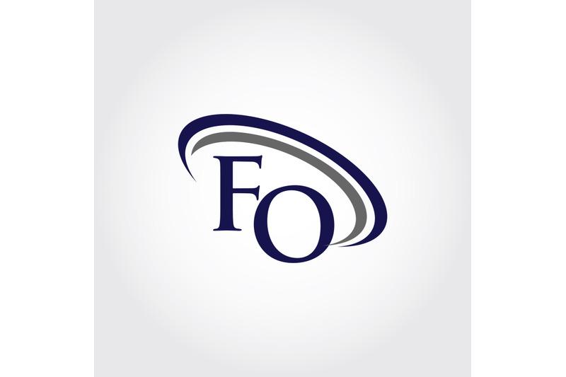 monogram-fo-logo-design