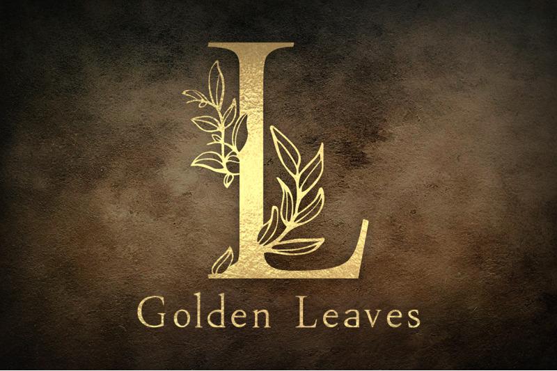 the-golden-leaves-floral-otf-ttf-svg-png-font
