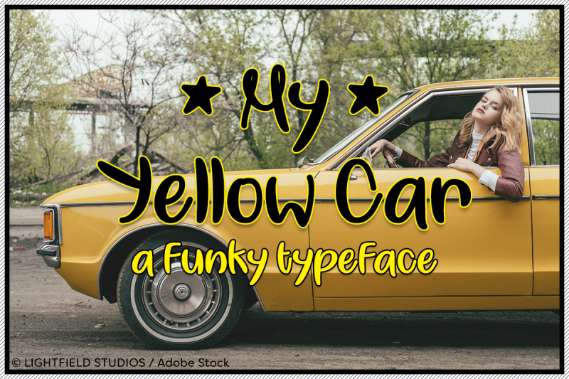 my-yellow-car