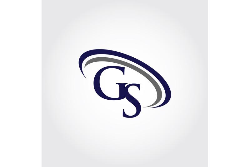monogram-gs-logo-design