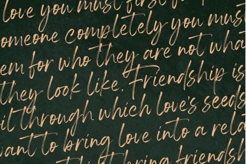 housky-handwritten-font