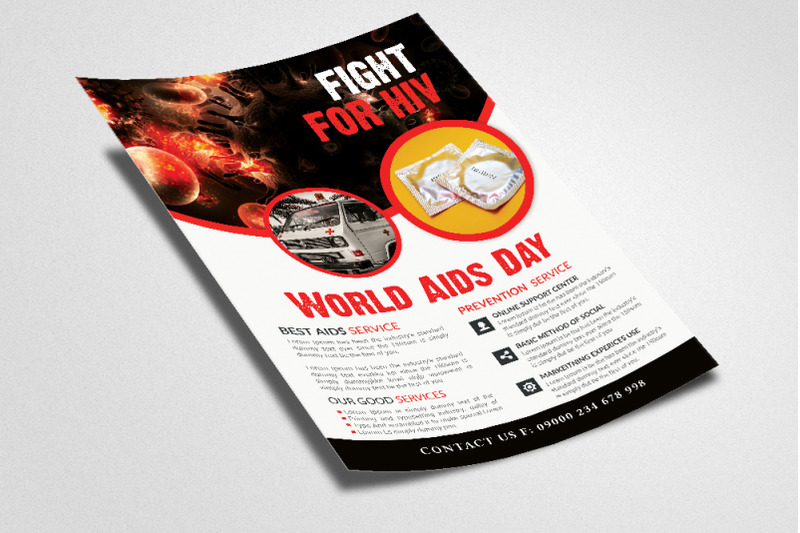 world-aids-day-awareness-flyer-template